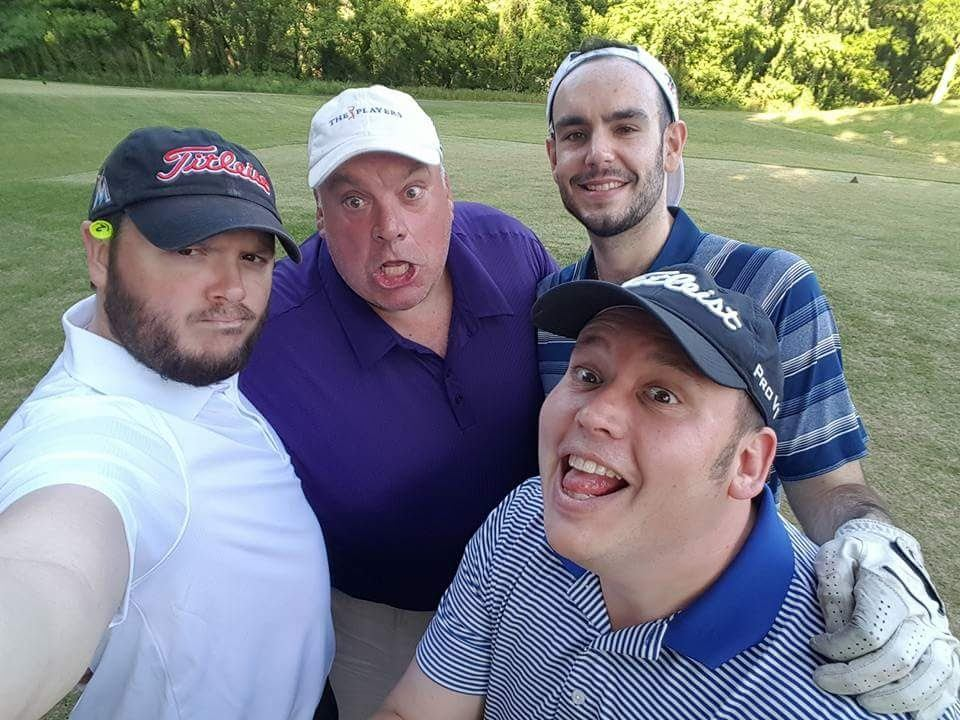 Golf with the great ones